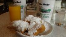 At the Cafe Du Monde