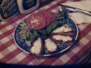 Chevre Chaud Salad
