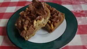 Caramel Walnut Pecan Bars