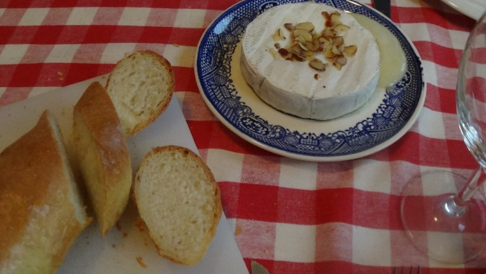 French Bread and Brie