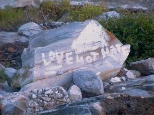 A Message From Galveston Beach