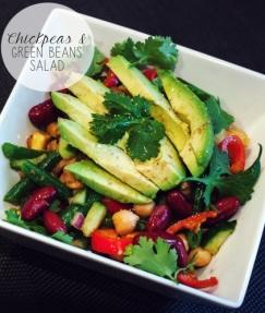 Chickpea & Green Bean Salad