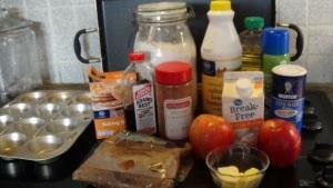 Apple Pie Muffin Ingredients