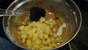 Apple Pie Muffin Batter