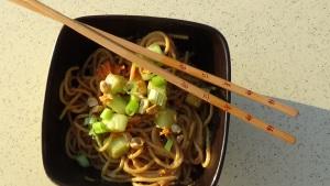 Classic Noodles with Peanut Sauce