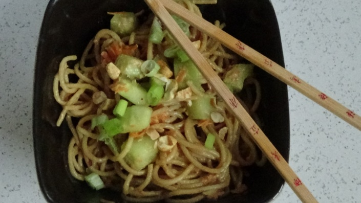Classic Cold Noodles with Peanut Sauce
