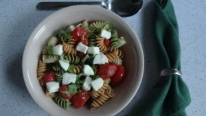Blistered Tomato Pasta Salad