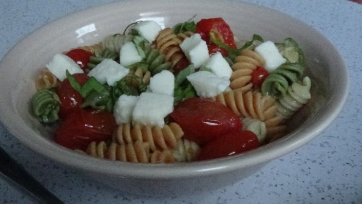Blistered Tomato Pasta Salad