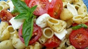 Pesto Pasta Caprese
