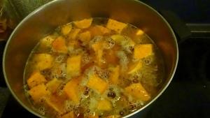 Sweet Potato Chipotle Bisque