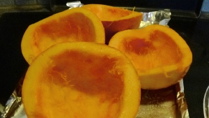 Roasting Pie Pumpkins