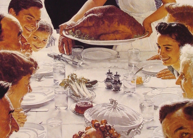 A Norman Rockwell Thanksgiving