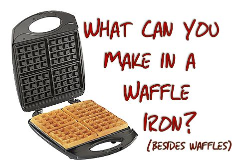 What can you make in a waffle iron?